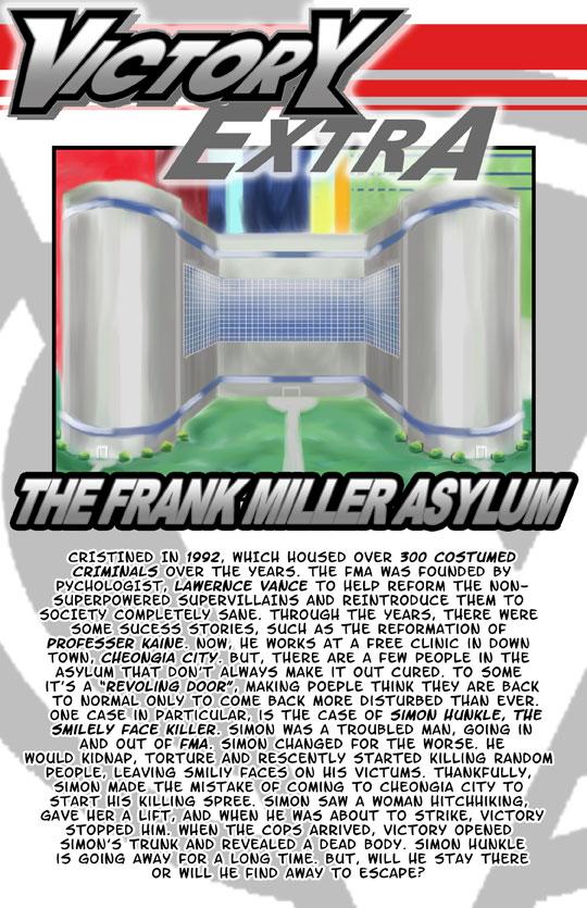 Victory EXTRA: The Frank Miller Asylum